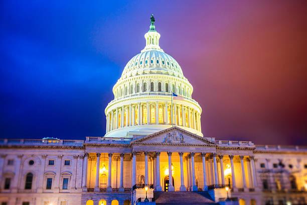 capitol hill red or blue - республиканская партия сша стоковые фото и изображения