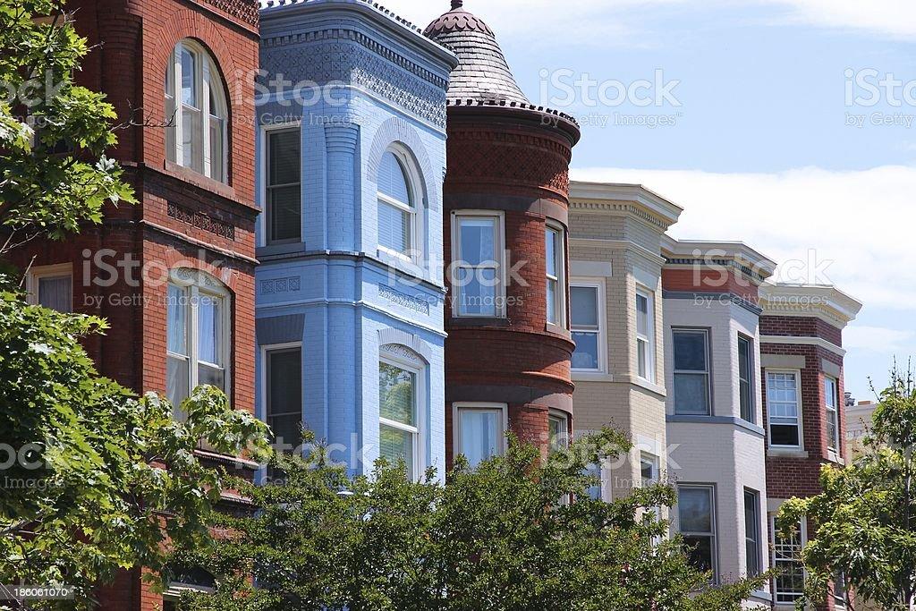 Capitol Hill, Washington stock photo