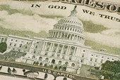 istock US Capitol House on dollar bill 172178472