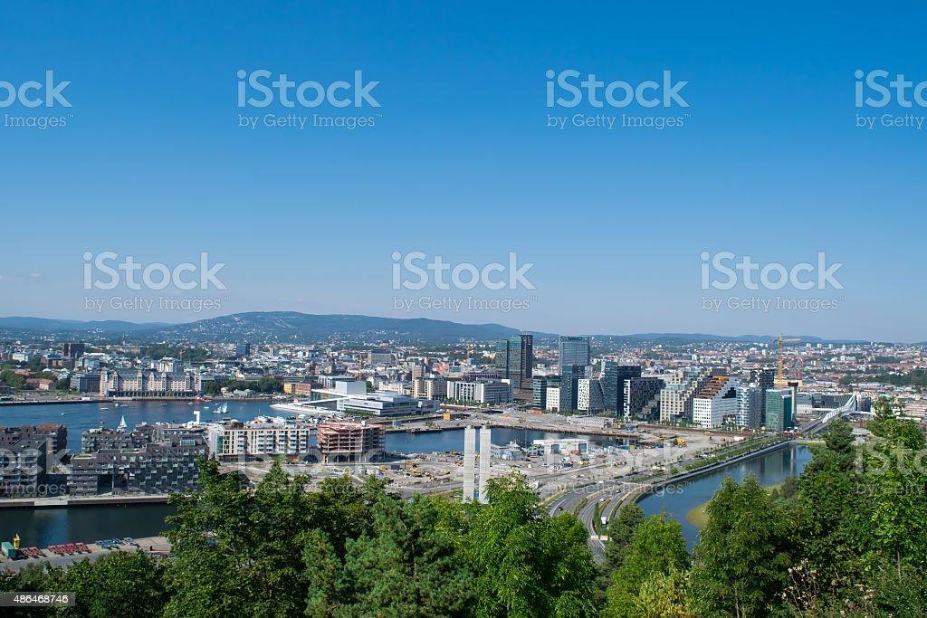Capitol in Norway, Oslo. stock photo