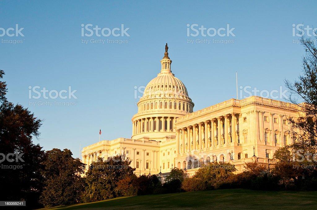 US Capitol in Washington DC - III royalty-free stock photo