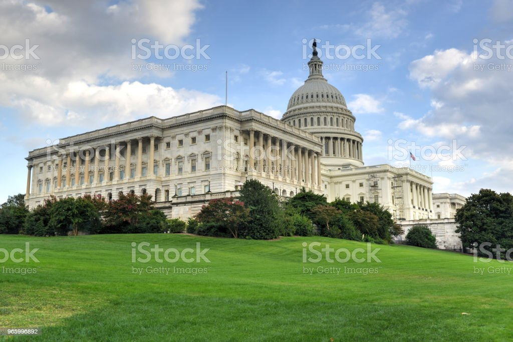 US Capitol in Washington DC - Royalty-free Architectural Dome Stock Photo
