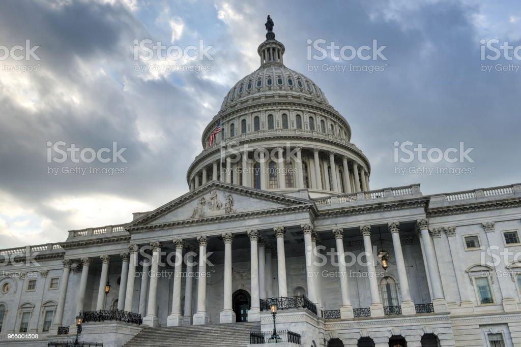 US-Kapitol in Washington, DC - Lizenzfrei Abgeordnetenhaus Stock-Foto
