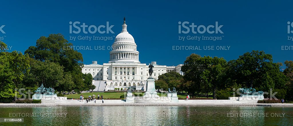 US Capitol in Washington D.C., USA stock photo