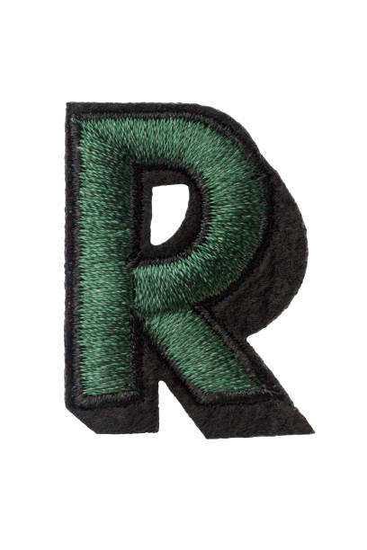 国会議事堂の手紙 r のステッチ糸で - 刺繍 ストックフォトと画像
