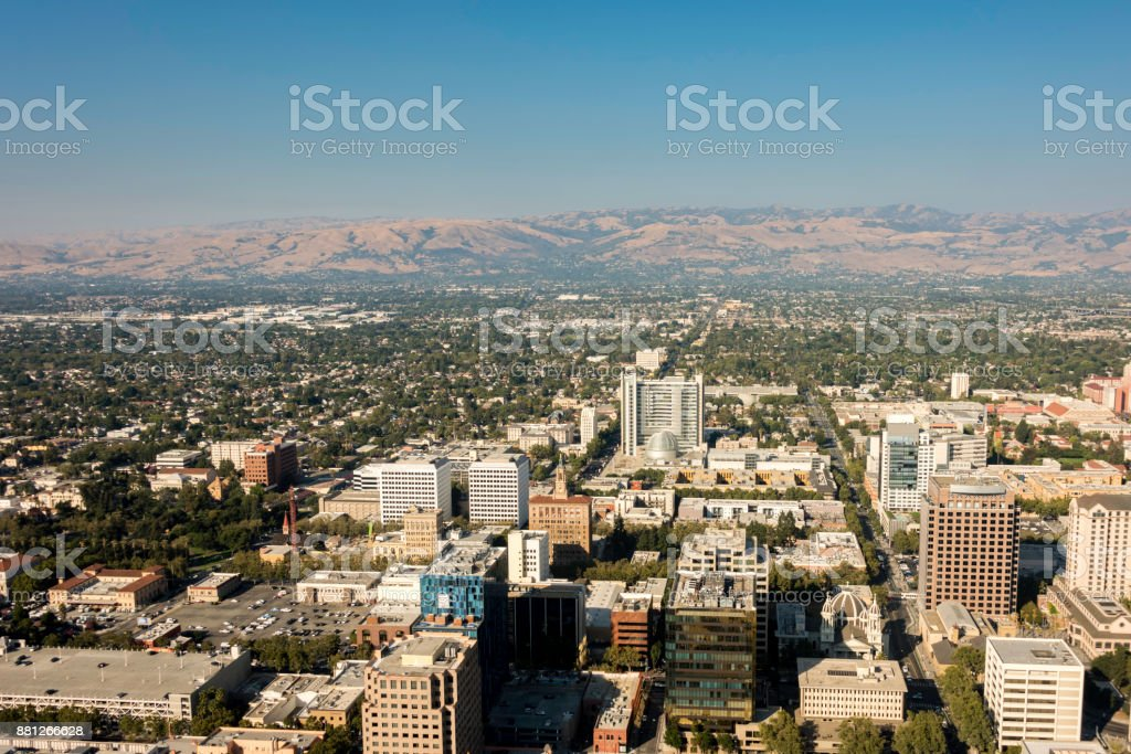 Capitol of Silicon Valley stock photo