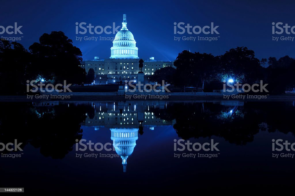 U.S. Capitol stock photo