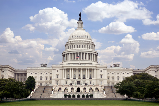 Us Capitol Stock Photo - Download Image Now