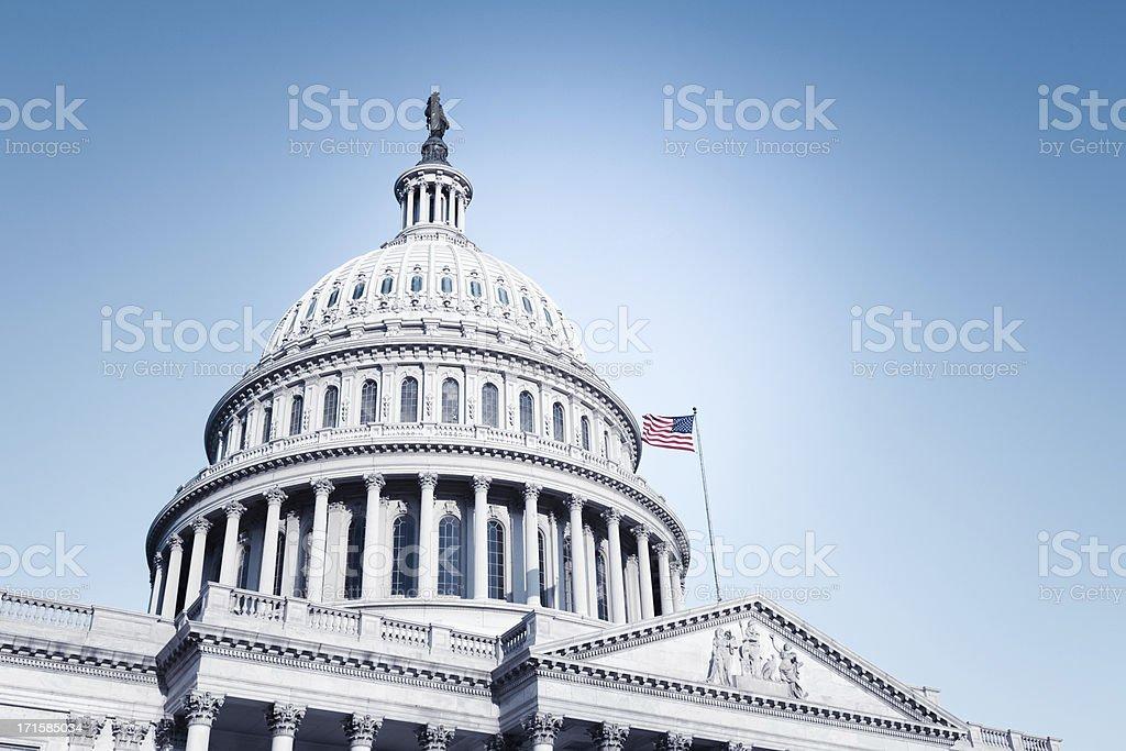 US Capitol - Royalty-free Amerikaanse cultuur Stockfoto