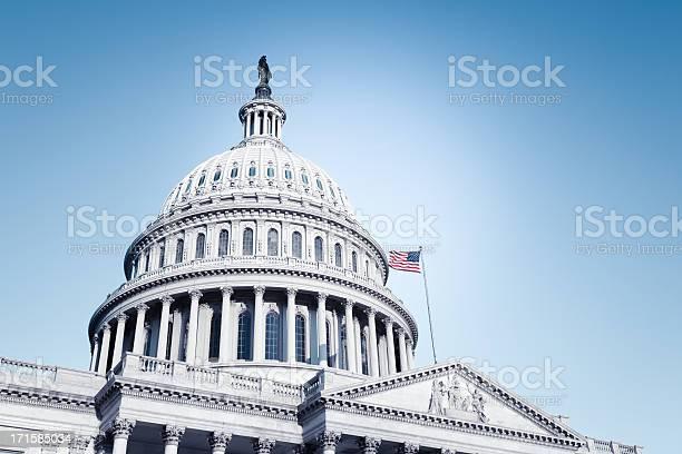 Us Capitol Stockfoto en meer beelden van Amerikaanse cultuur