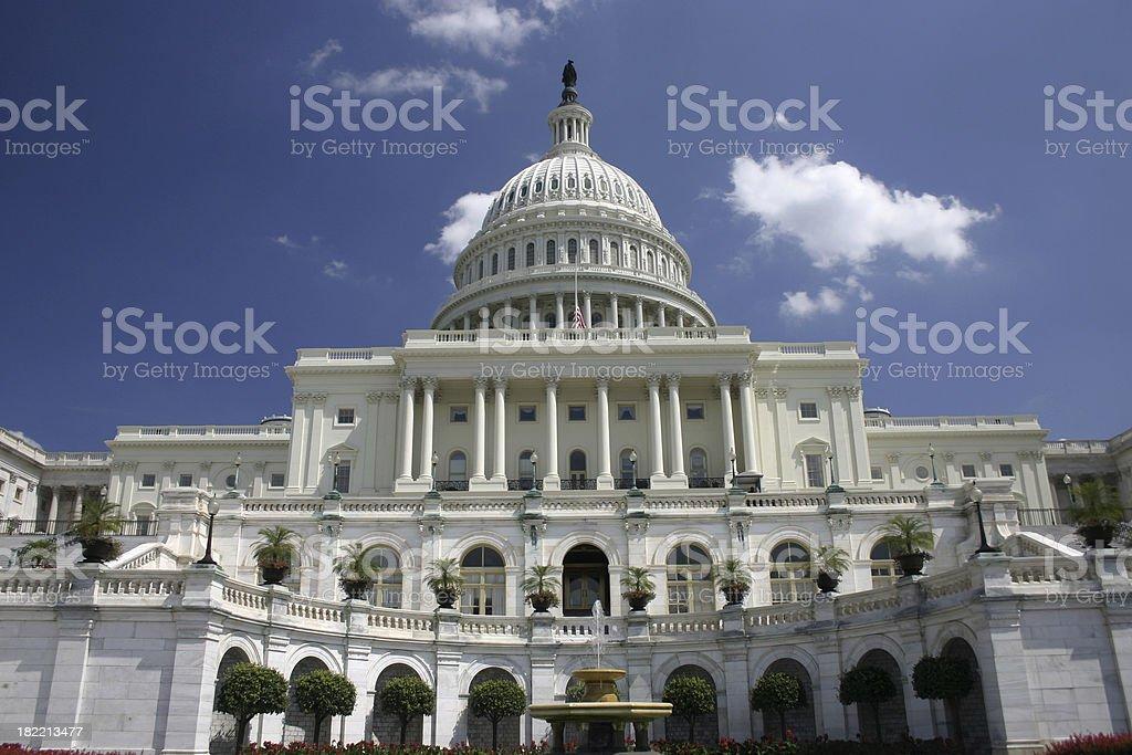 U.S. Capitol royalty-free stock photo