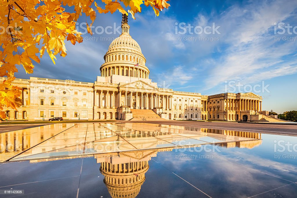 US Capitol stock photo