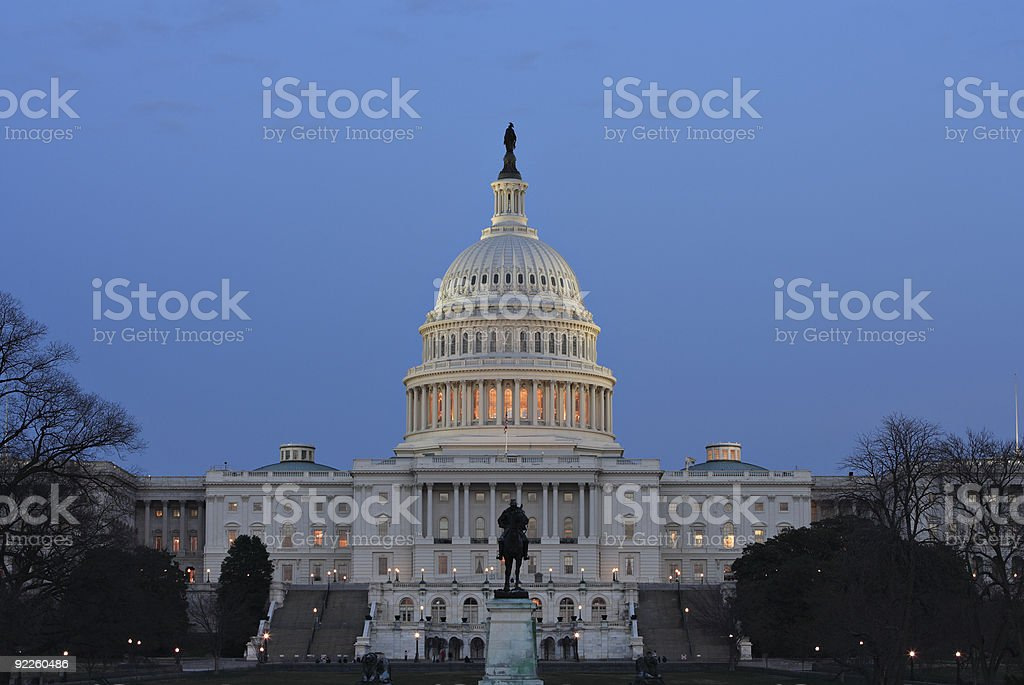 US Capitol royalty-free stock photo