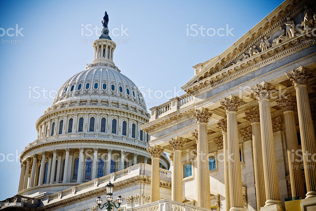 U.S. Capitol royalty-free stock photo