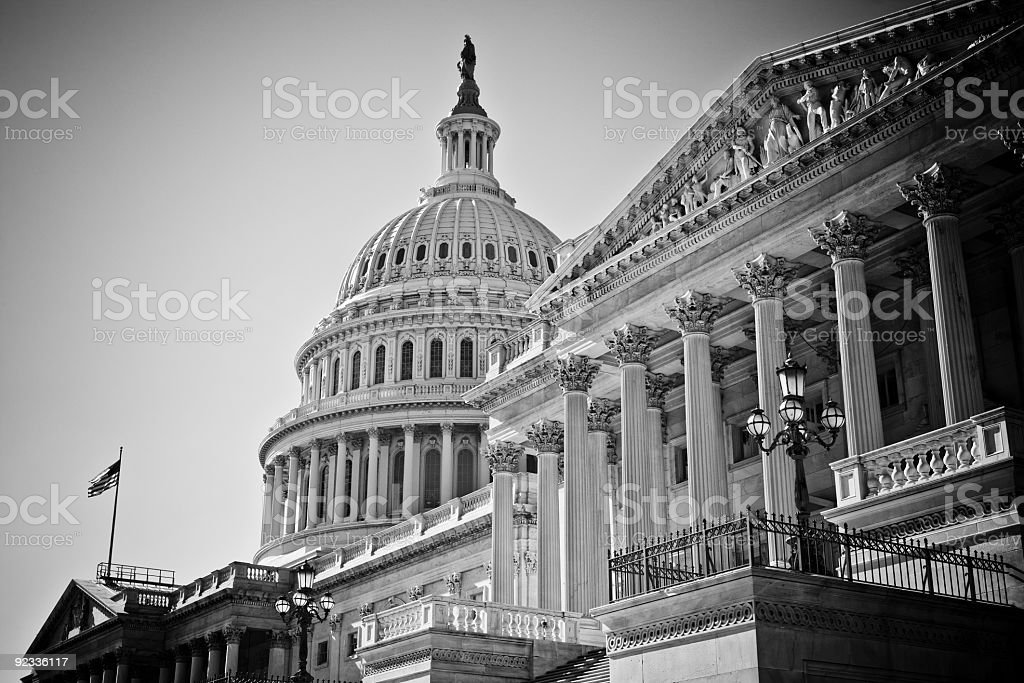 U.S. Capitol stock photo