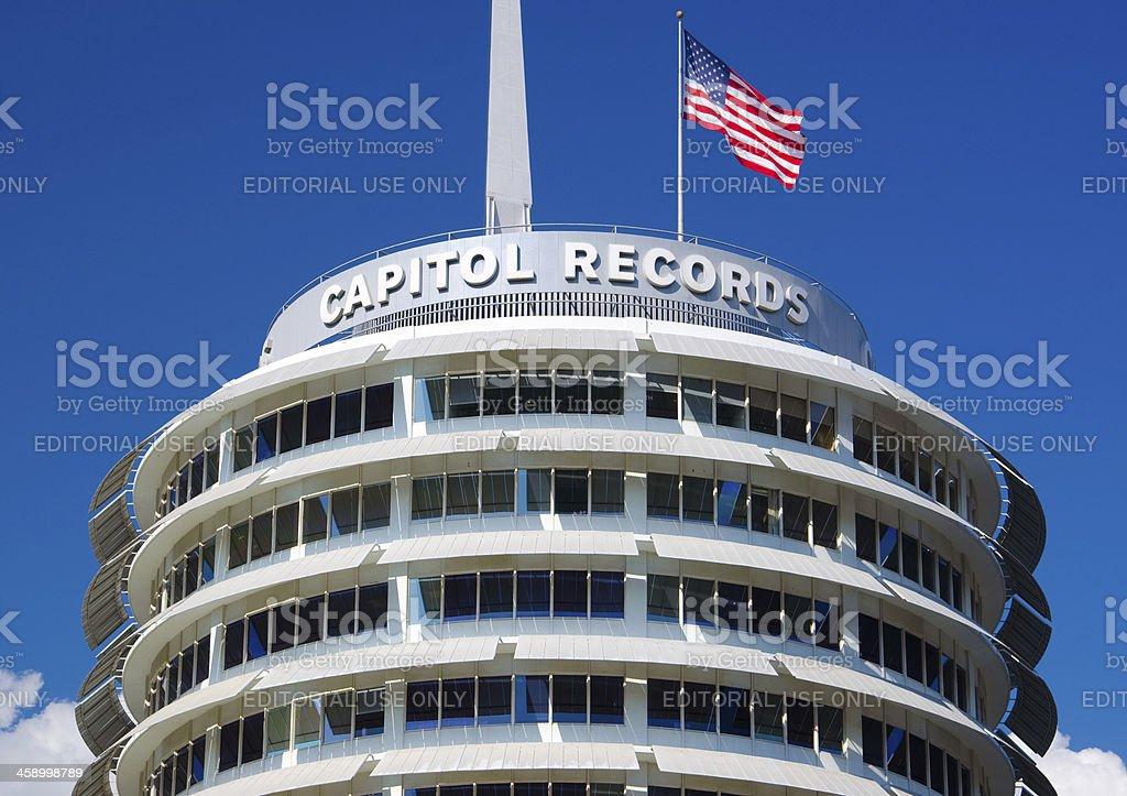 Capitol Records building stock photo