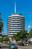 Hollywood, CA / USA - September 8th, 2012: Capitol Records headquarters building