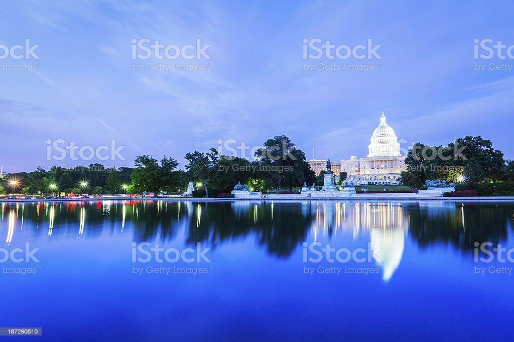 US Capitol Skyline stock photo