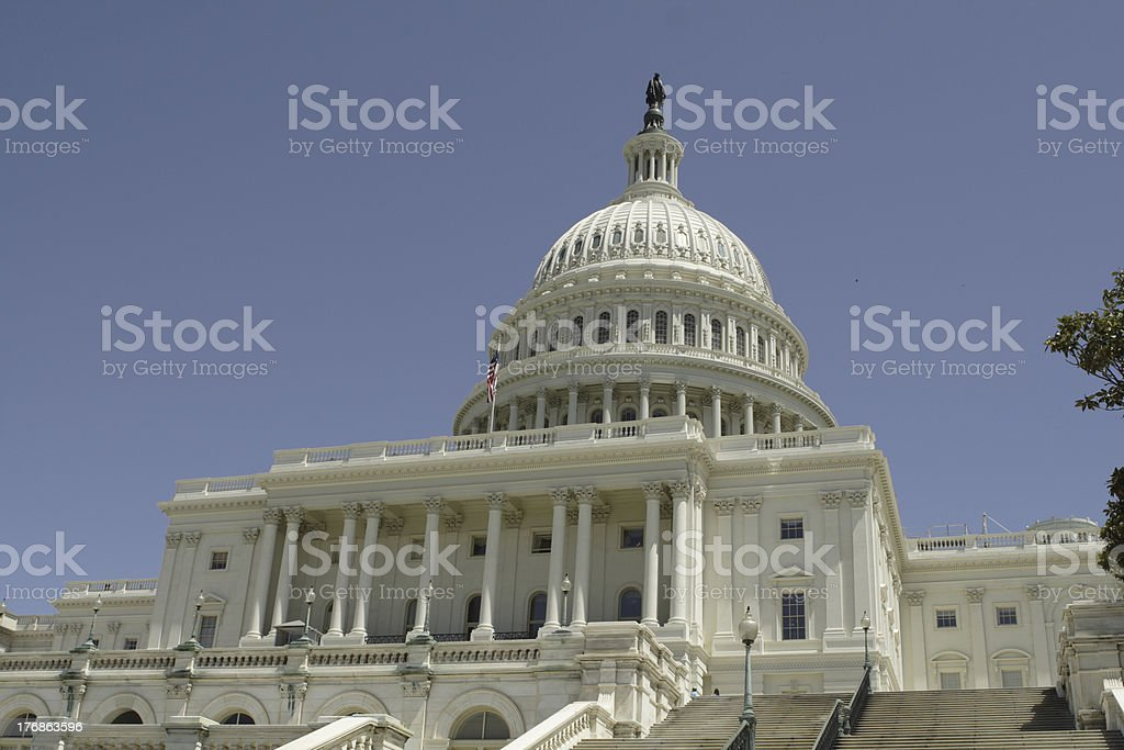 Capitol Steps royalty-free stock photo