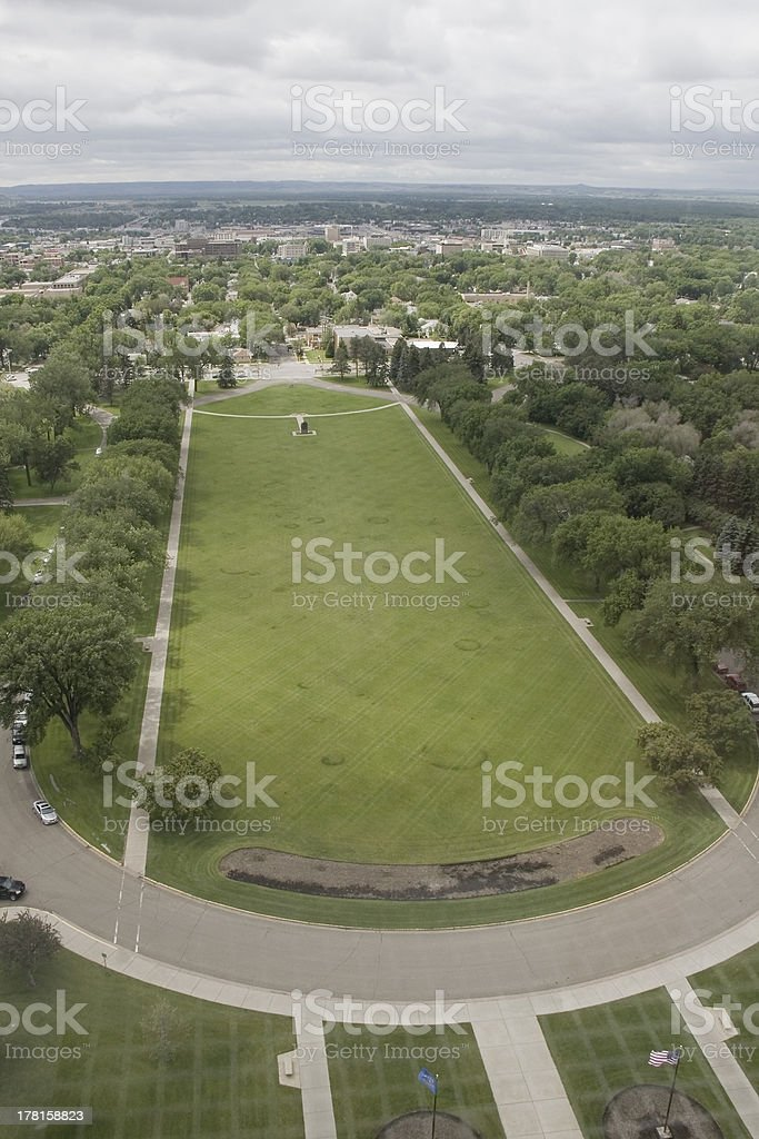 ND Capitol View royalty-free stock photo