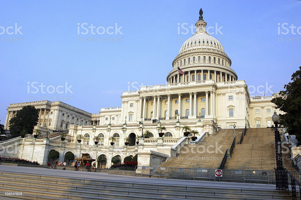US Capitol – Washington DC royalty-free stock photo