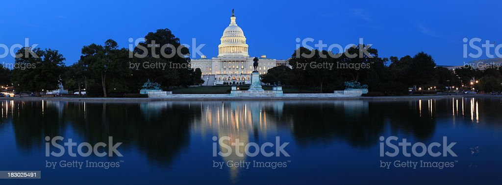 US Capitol, Washington DC royalty-free stock photo