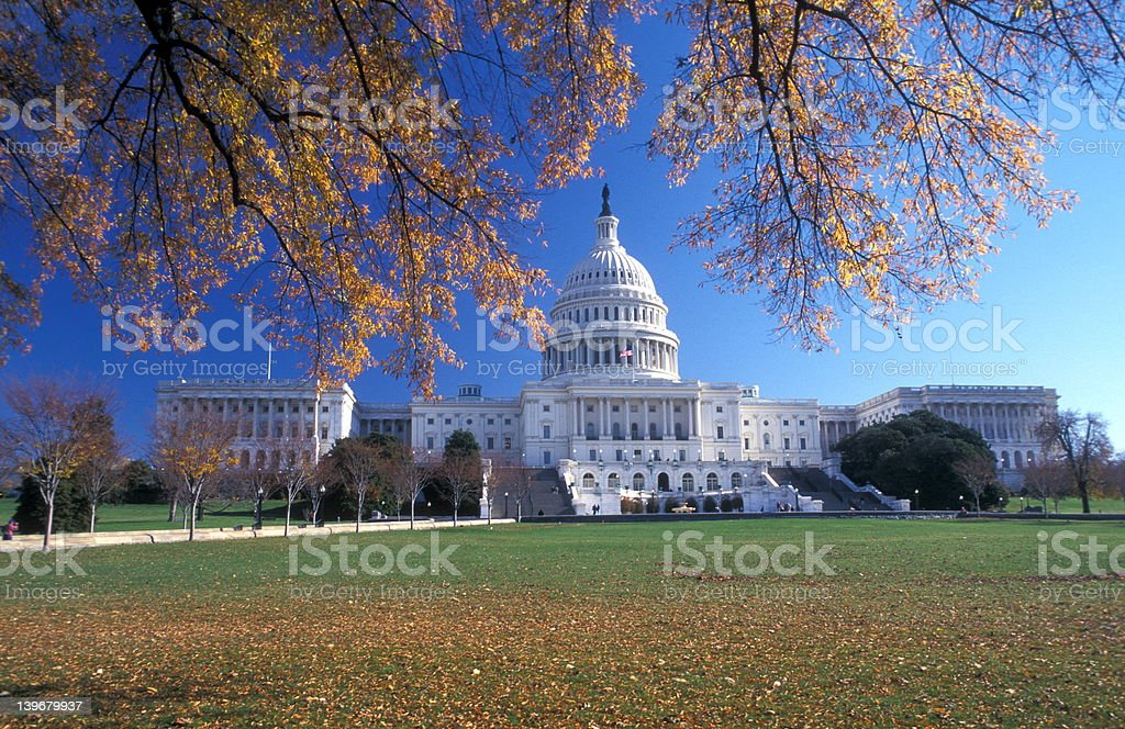 Capitol, Washington royalty-free stock photo