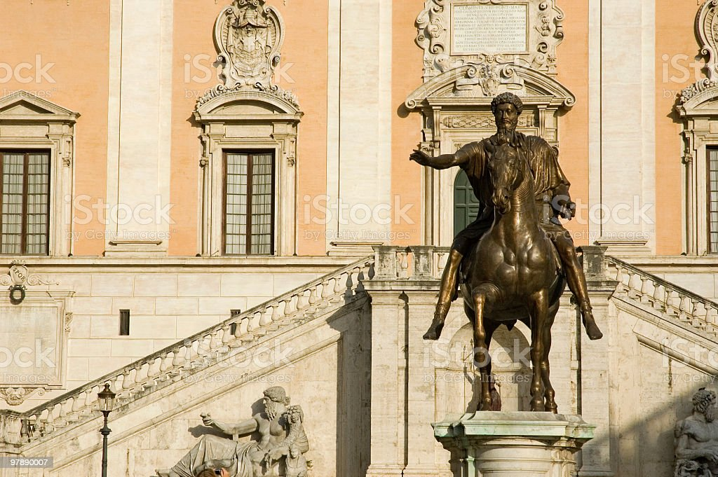 Capitoline Hill royalty-free stock photo