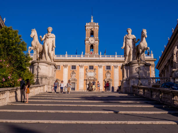 Capitoline Hill, Rome, Italy stock photo