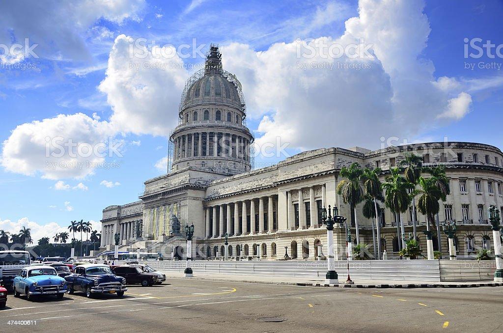 Capitolio Nacional, Cuba royalty-free stock photo