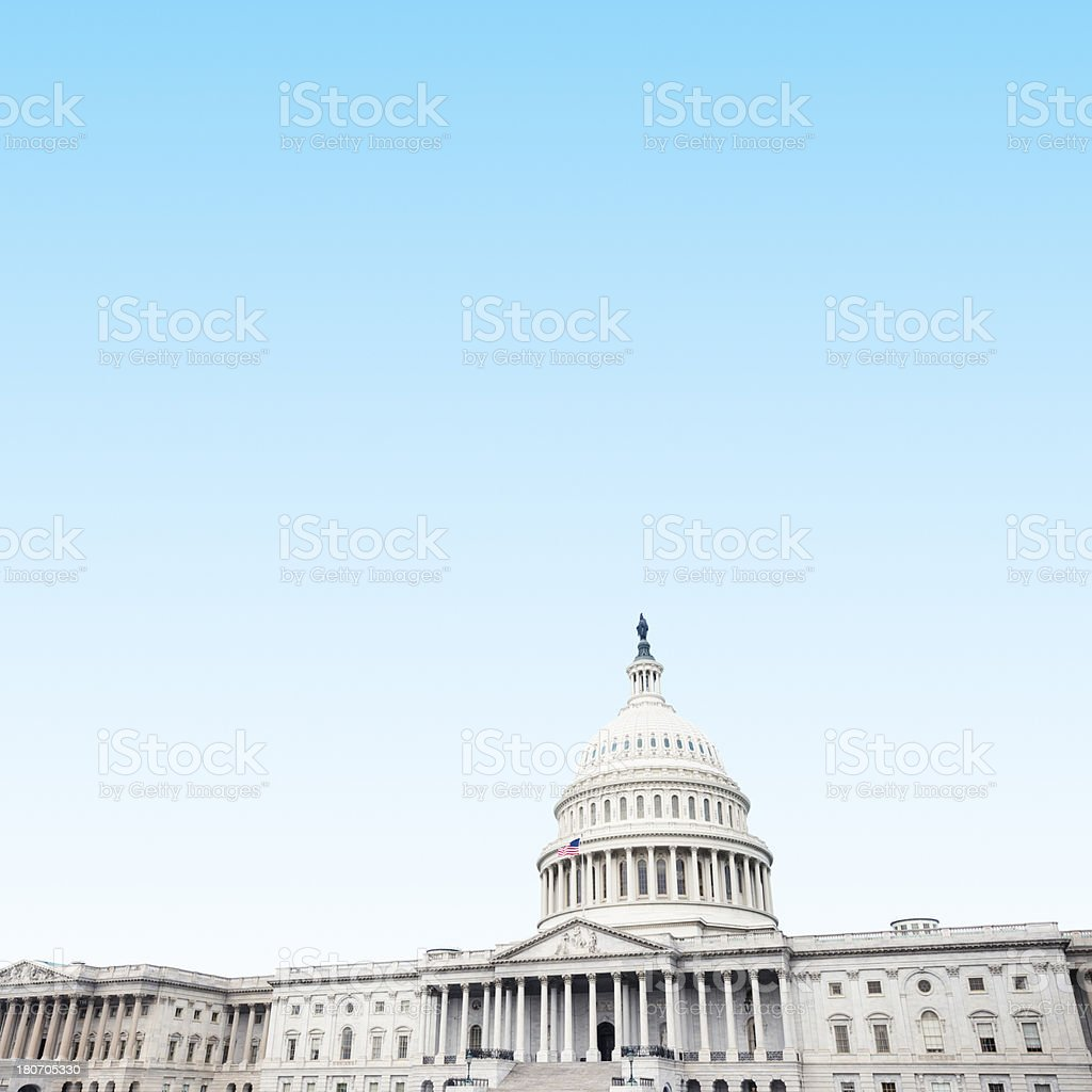 Capiton building in Washington DC stock photo