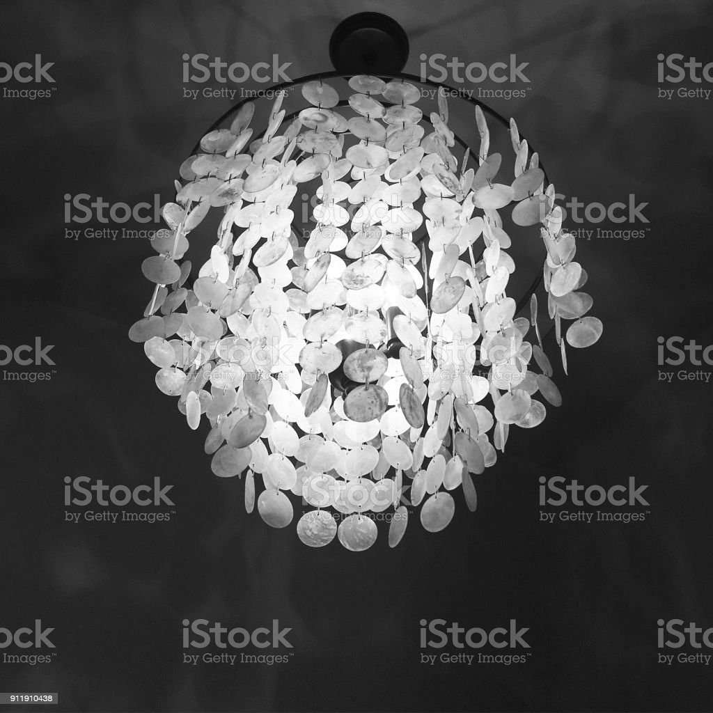 Capiz Shell Chandelier Stock Photo Download Image Now Istock