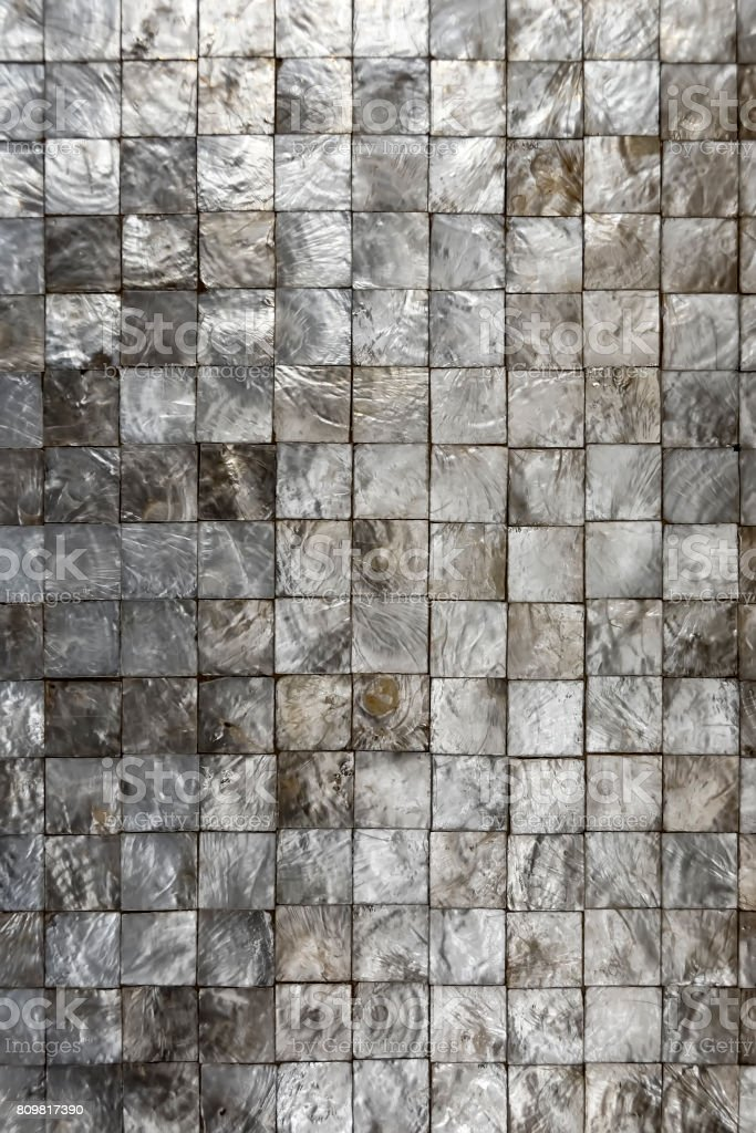 Capiz Tiles stock photo