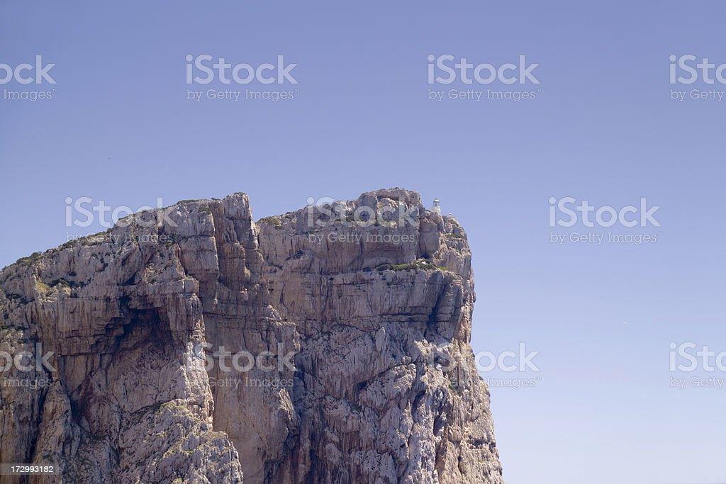 Capo Caccia royalty-free stock photo