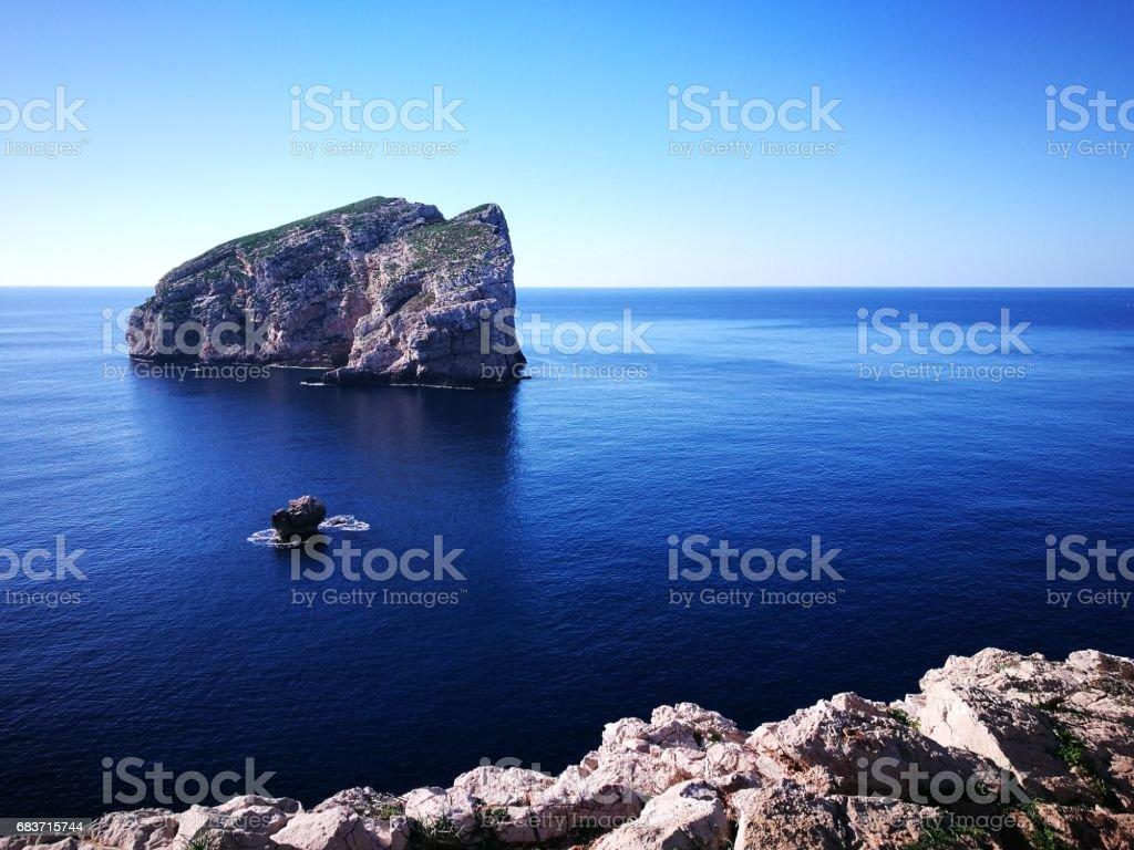 Capo Caccia Vertical Cliffs (Alghero, Italy) - foto stock