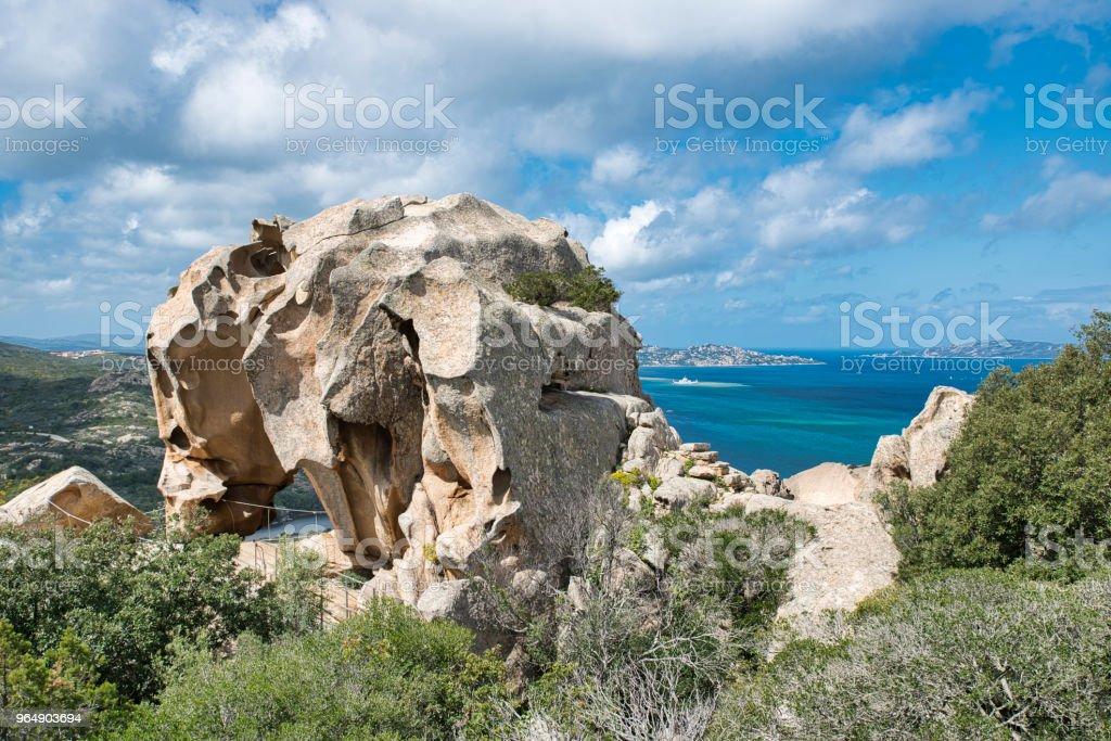 Capo d'Orso in Sardinia, Italy royalty-free stock photo