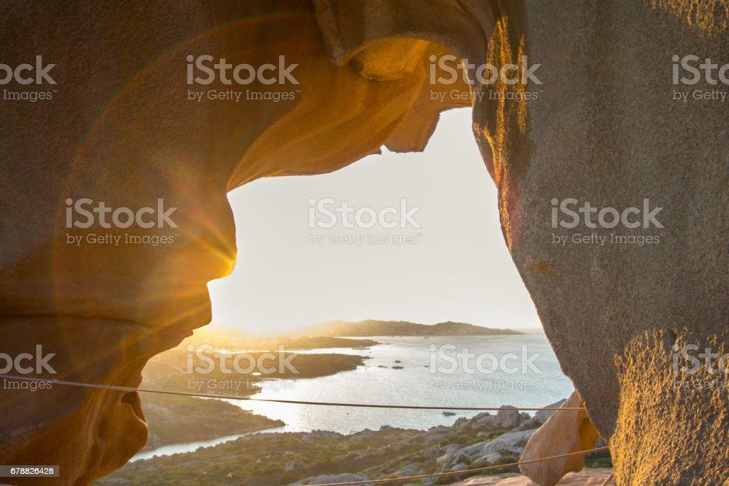 Capo D'orso, Palau, Sardinia, Italy royalty-free stock photo