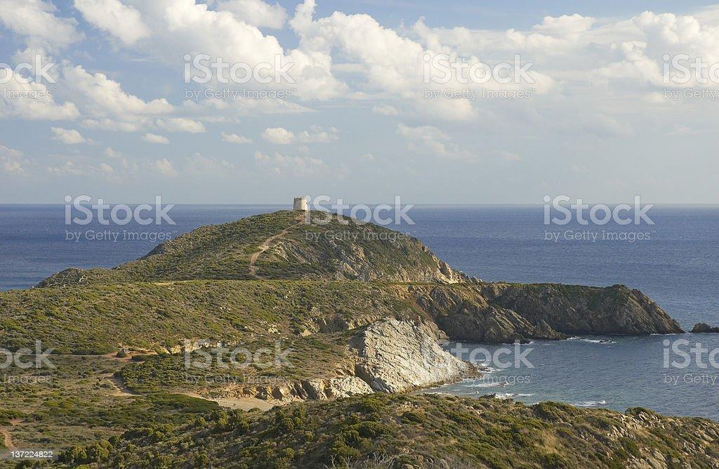 Capo Malfatano, Teulada, Sardinia, Italy stock photo