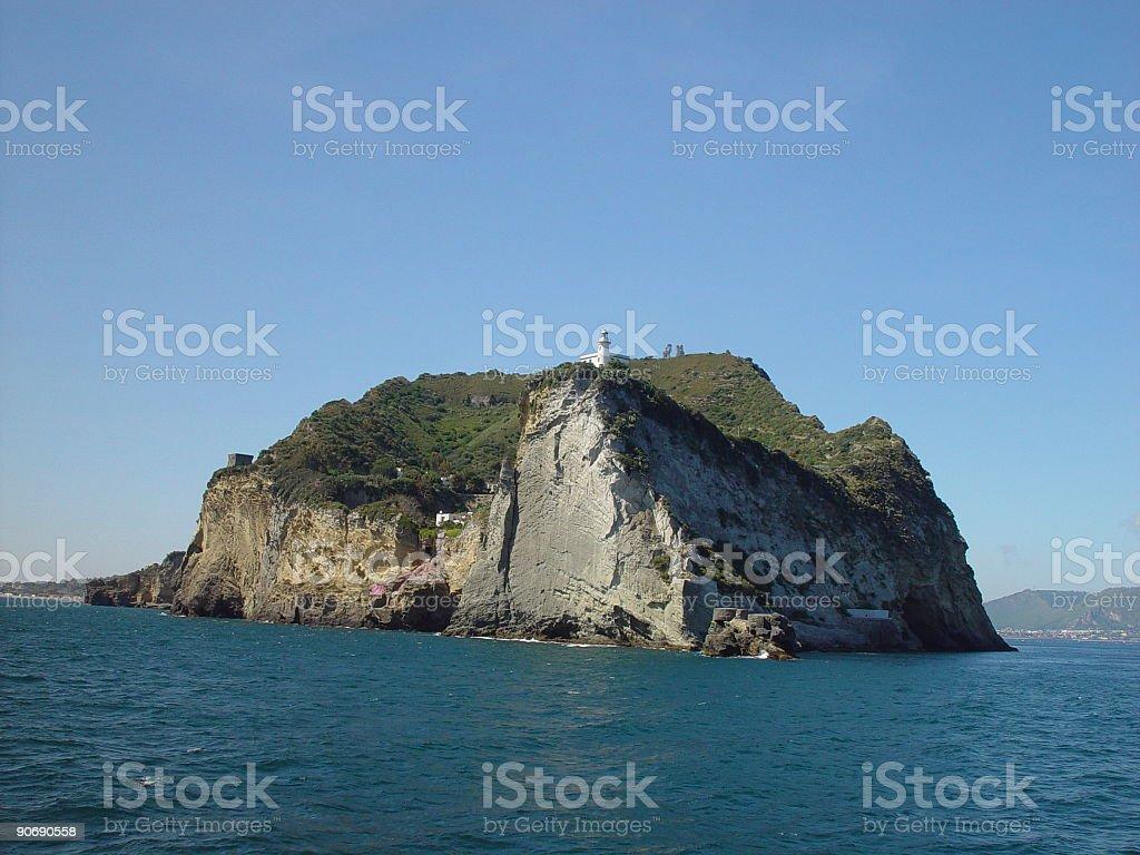 Capo Miseno royalty-free stock photo