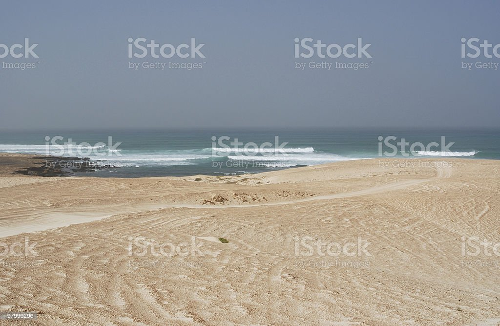 Capo Verde costa foto royalty-free