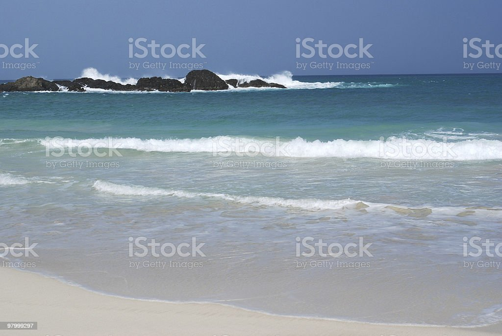 Capo Verde Coast royalty-free stock photo