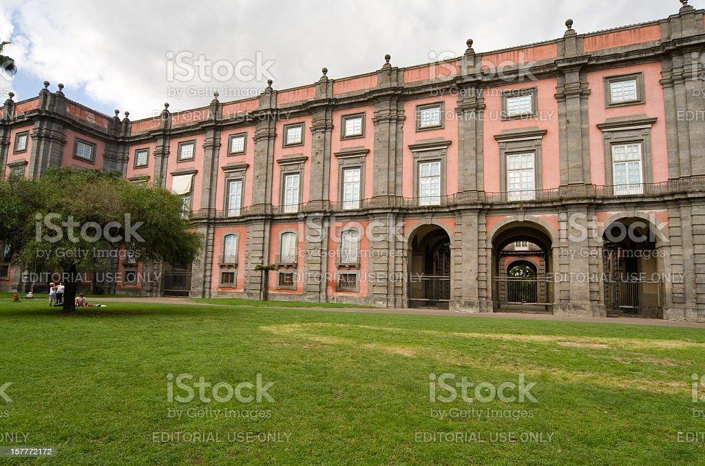 Palazzo reale di Capodimonte, Napoli, Italia - foto stock