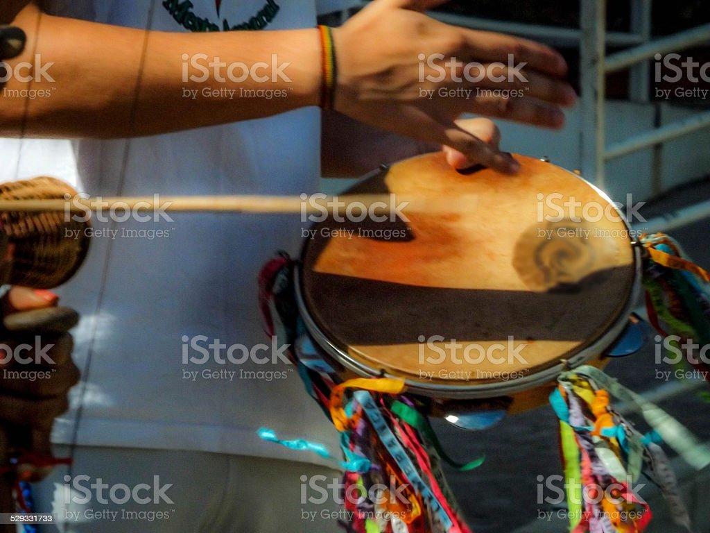 Instrumento capoeira stock photo