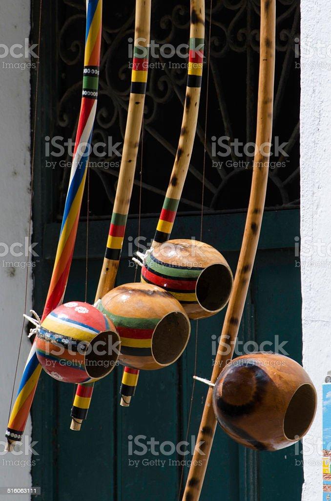 capoeira instrumentos - foto de acervo