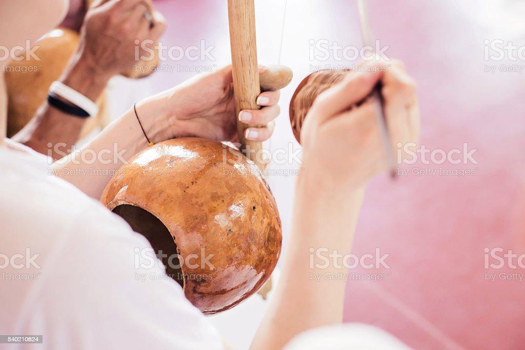 capoeira música - foto de acervo