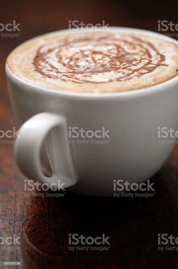 Cappaccino royalty-free stock photo