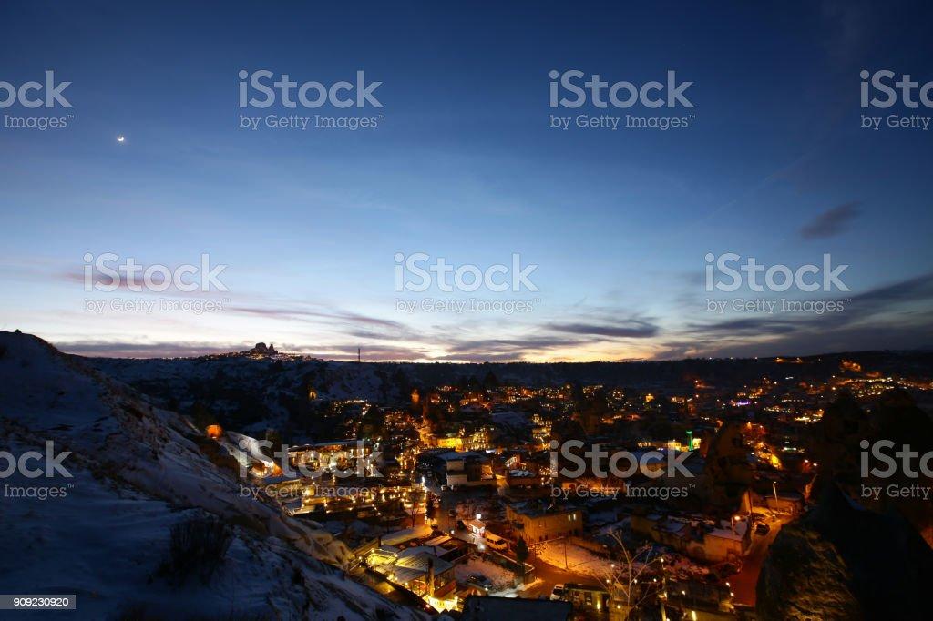 Cappadocia at Winter stock photo