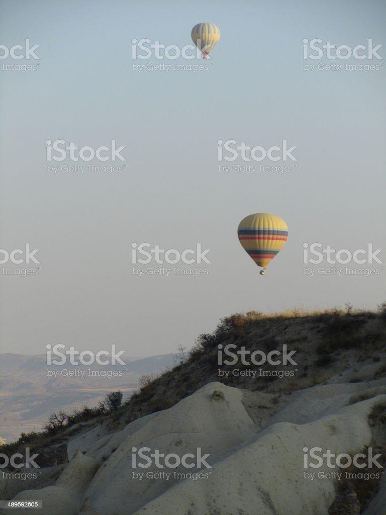 Cappadocia Balloons royalty-free stock photo