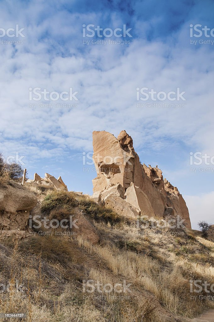 cappadocia fairy chimneys turkey royalty-free stock photo