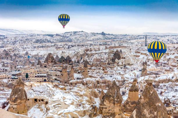 Cappadocia in Turkey stock photo